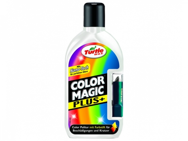 Turtle Wax Color Magic & Stick Weiss