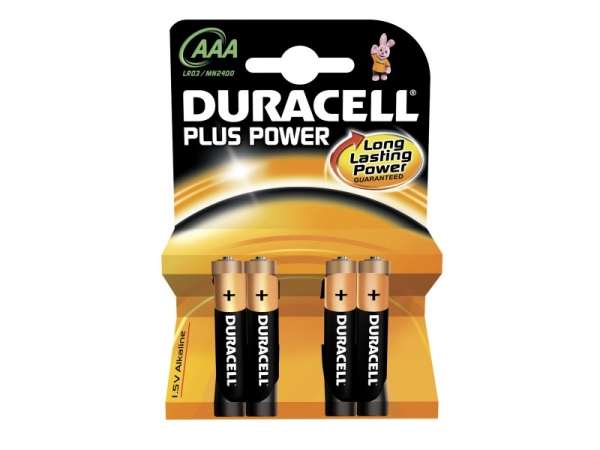 Duracell Plus-Power AAA 1.5V